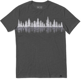 tentree Treelake T-Shirt Men Meteorite Black